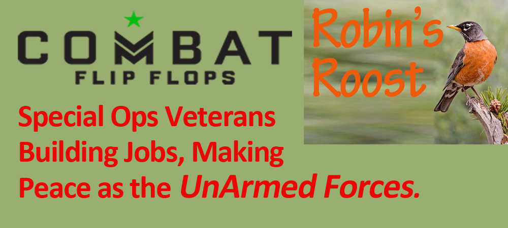Combat Flip Flops:  The Unarmed Forces